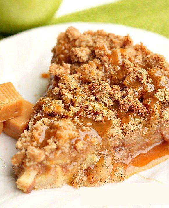 Disney's Apple Caramel Pie from Six Sisters Stuff