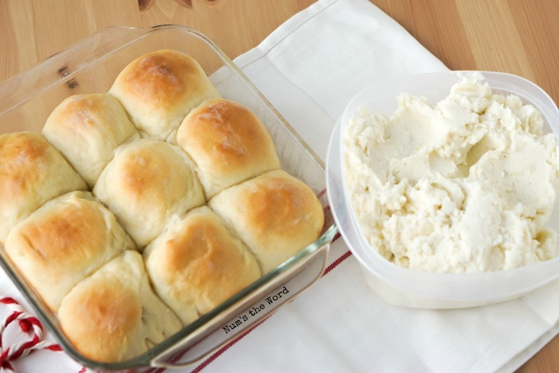 Leftover Mashed Potato Rolls from Num's the Word