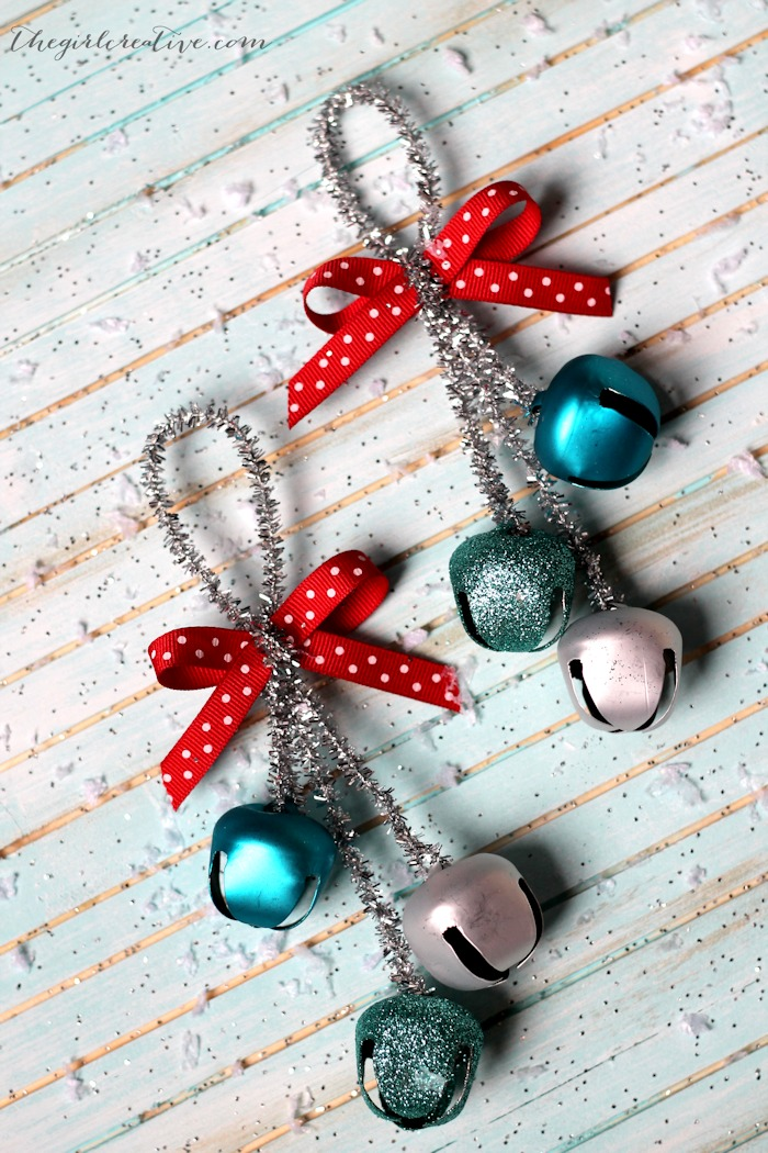 Jingle Bells Christmas Ornaments from Crafting Chicks