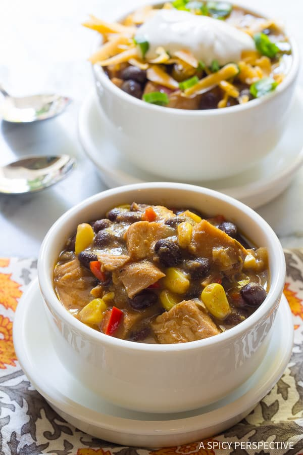 Best Turkey Chili Recipe from A Spicy Perspective