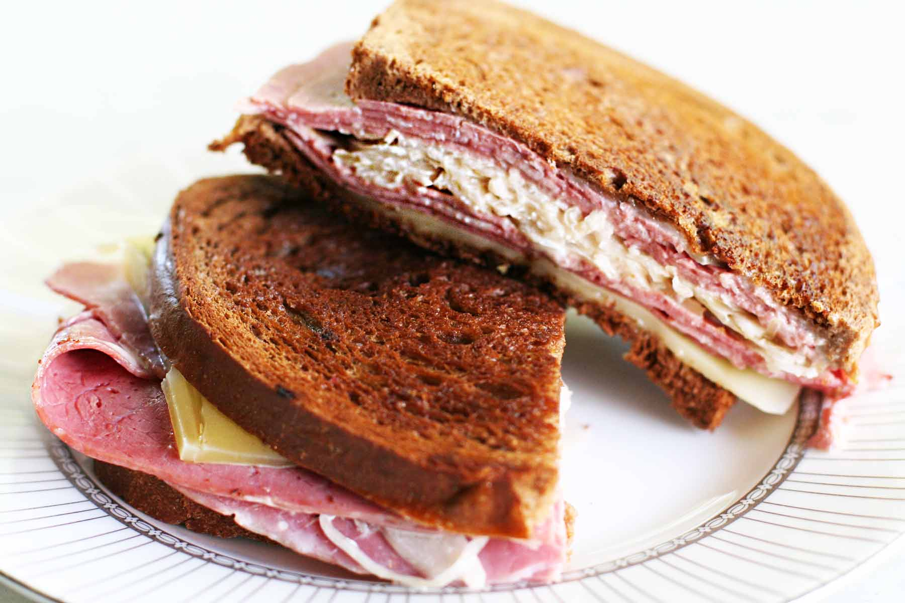 Reuben Sandwich from Simply Recipes