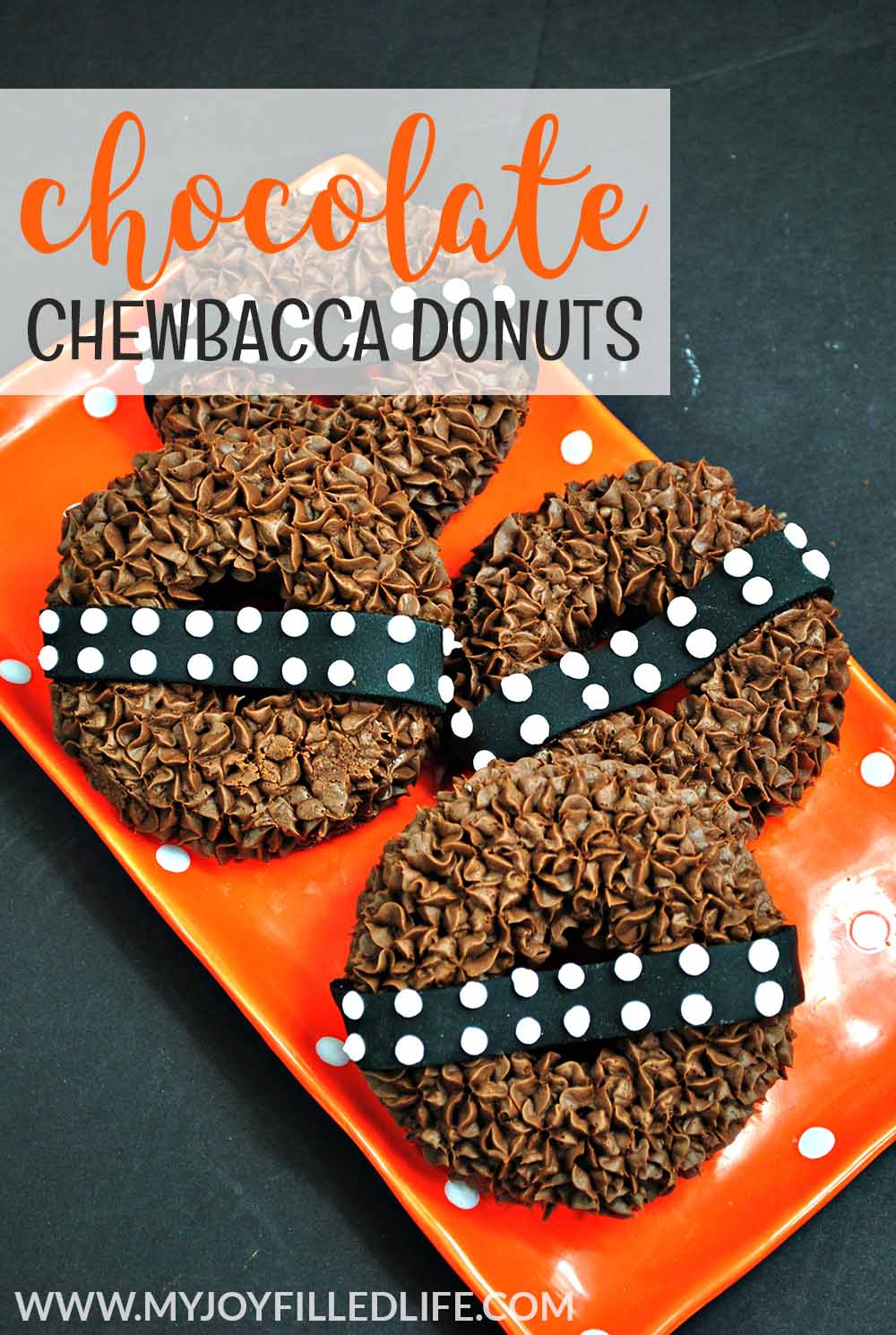 Chocolate Chewbacca Donuts from My Joy-Filled Life