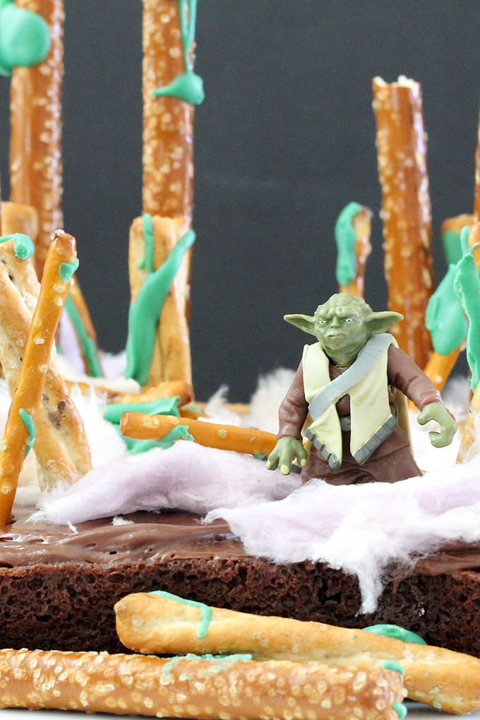 Star Wars Brownies from The Decorated Cookie