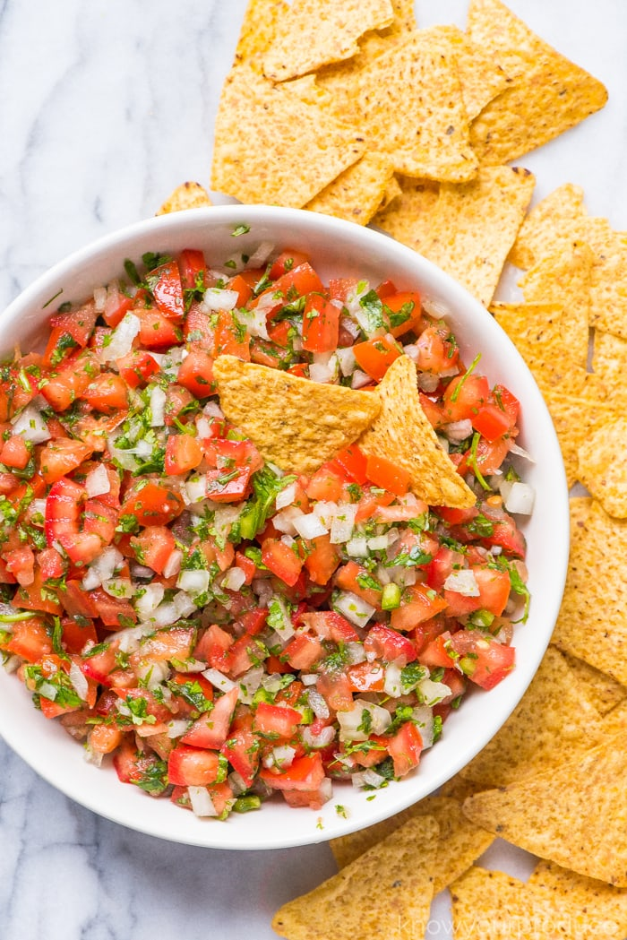 Pico De Gallo from Know your Produce