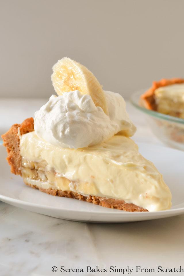 Banana Pudding Cheesecake from Serena Bakes