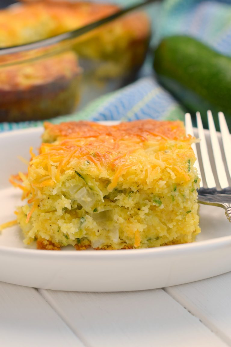 Cheesy Zucchini Cornbread Casserole from Who Needs a Cape?