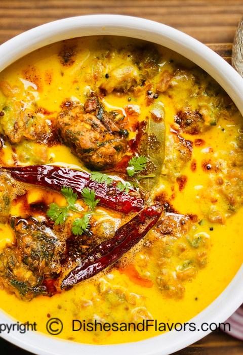 Punjabi Kadhi Pakora