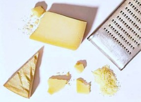 To make grating soft cheeses such as mozzarella, fontina, cheddar easier, just pop the cheese blocks in the freezer for up to 15 minutes before grating.