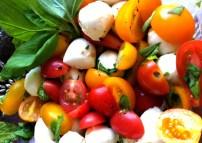 From Tami's corner, her Caprese Salad