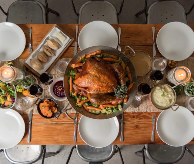 Bring Thanksgiving Dinner Home