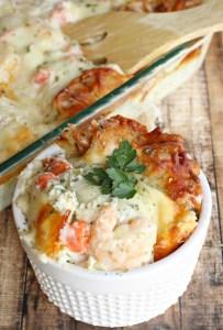 Shrimp Scampi Lasagna