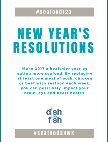 #Seafood123: New Year's Resolution