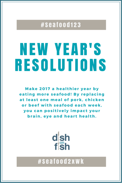 New Year's Resolutions with Seafood