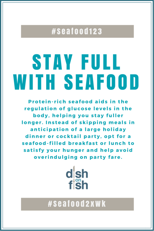 Stay Full with Seafood