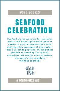#Seafood123 Seafood Celebration
