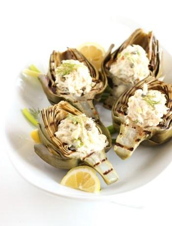 Crab Stuffed Artichokes