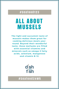 #Seafood123 All About Mussels