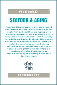 #Seafood123 Seafood & Aging
