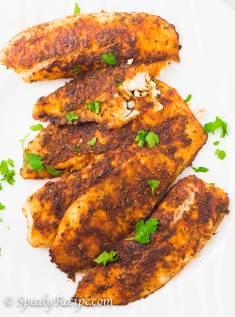 #SeafoodSunday: Oven-Baked Blackened Tilapia