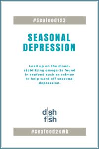 #Seafood123 Seasonal Depression