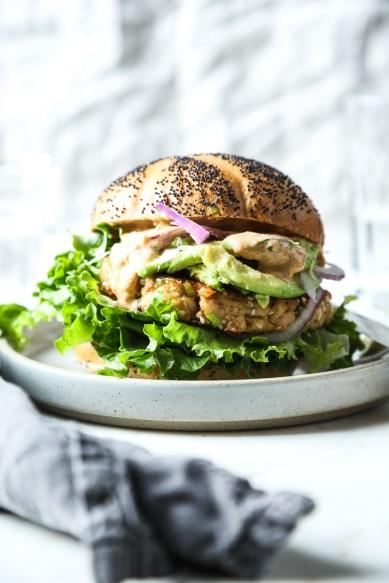 Sesame Tuna Burger