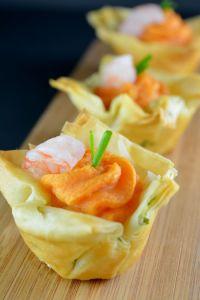 Shrimp Sweet Potato Mousseline