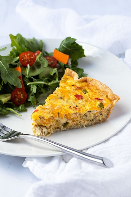 seafood meal plan - Crab quiche