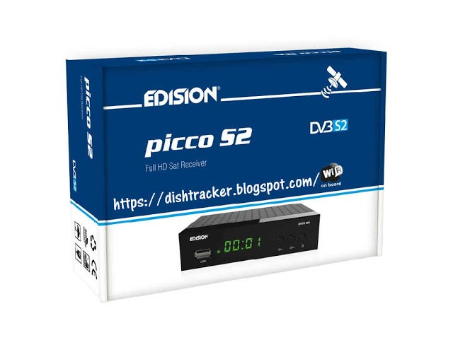 HOW TO UPDATE EDISION Picco S2 HD RECEIVER With USB
