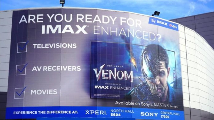 What is IMAX Enhanced on TV for displaying videos