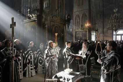 О причастии на Литургии Преждеосвященных Даров