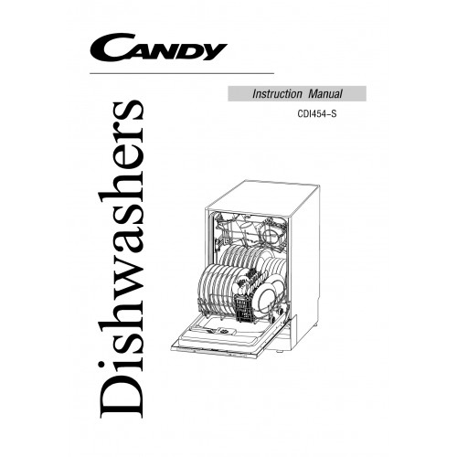 Candy CDI 454-S Dishwasher View Pdf and Manual