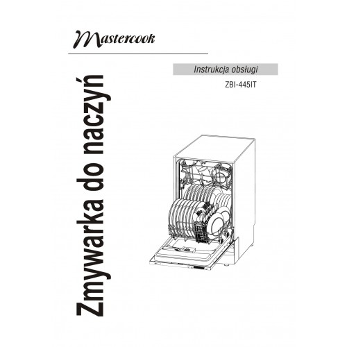 MasterCook ZBI-445IT Dishwasher View Pdf and Manual