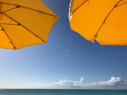 TCI Beach Umbrellas