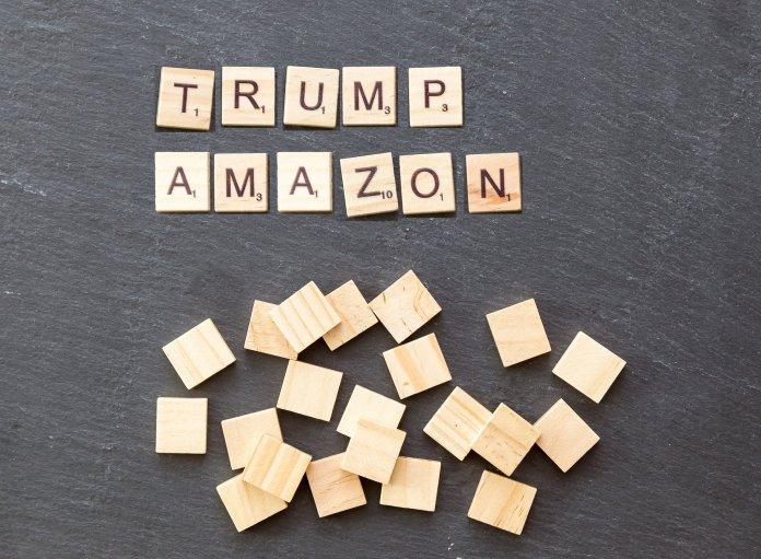 La falsa ira de Donald Trump sobre Amazon