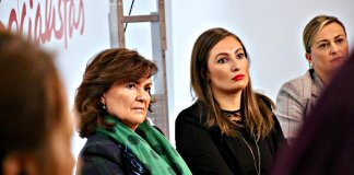 El esputo de la vicepresidenta Carmen Calvo a la separación de poderes