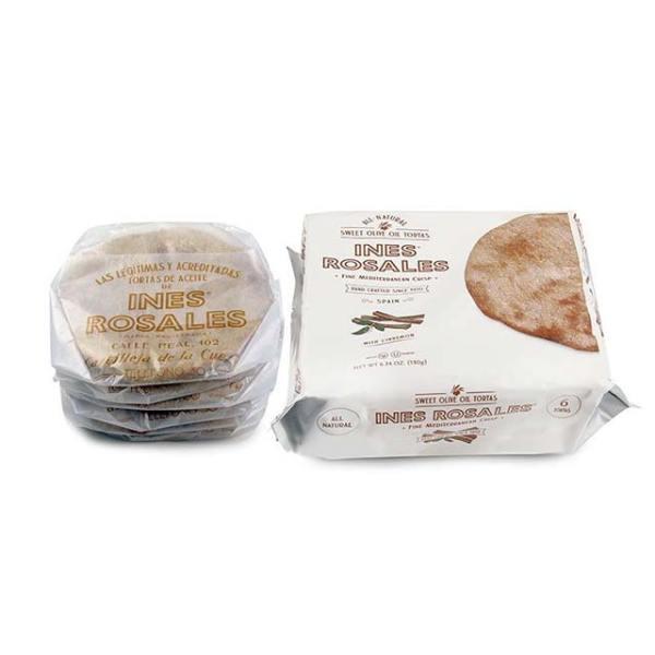 Package of Ines Rosales Cinnamon Sweet Olive Oil Tortas