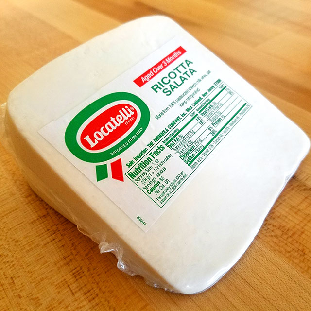 Ricotta Salata – Locatelli