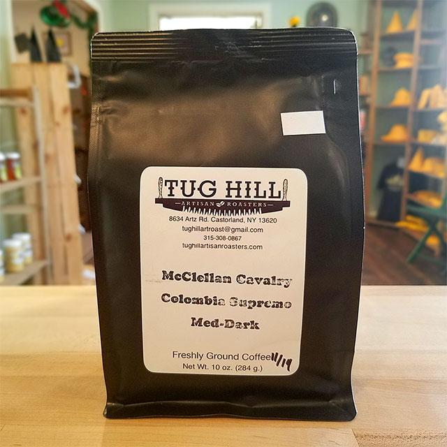 Coffee (McClellan Cavalry Colombia Supremo Med-Dark) – Tug Hill Artisan Roasters