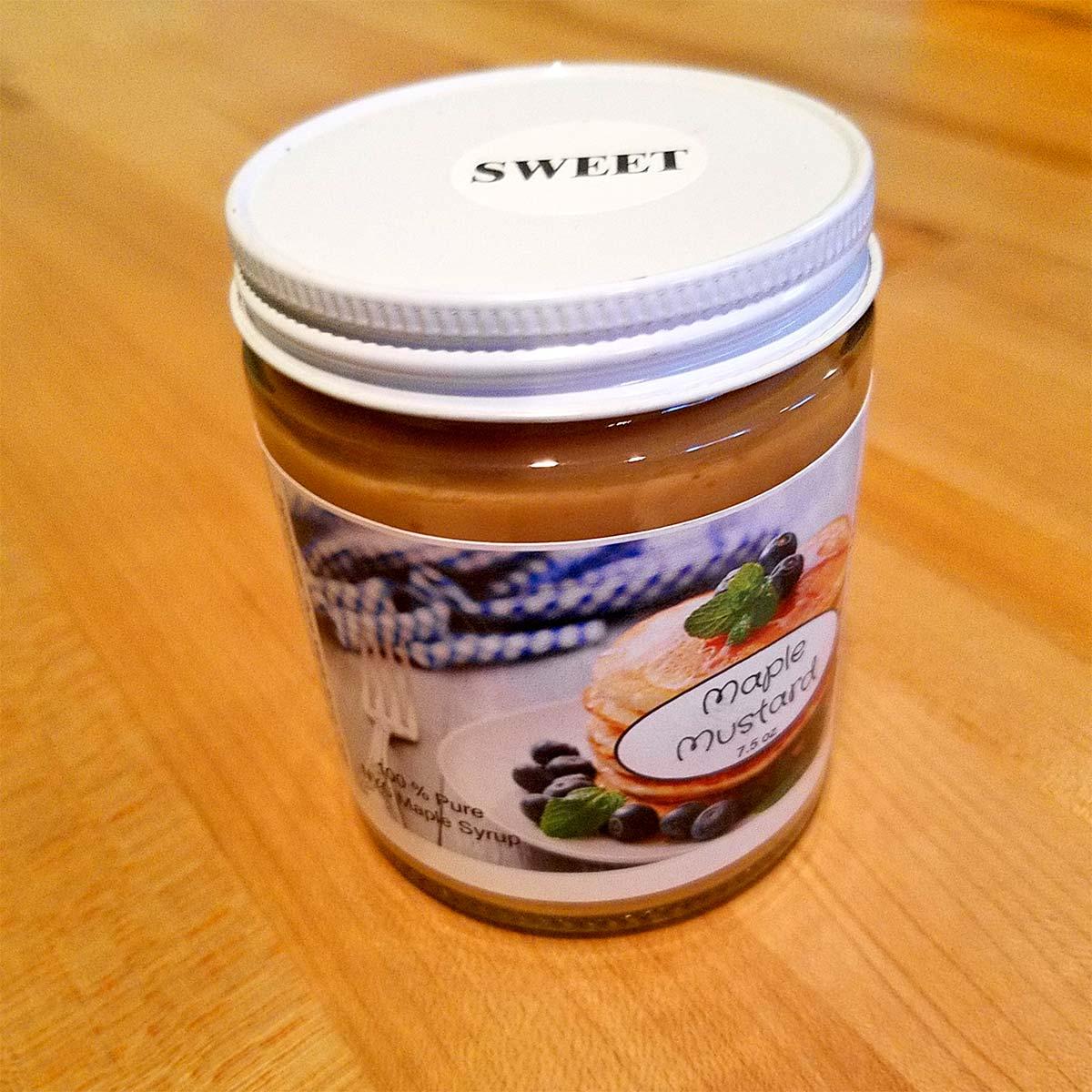 Sweet Maple Mustard – Farmhouse Maple