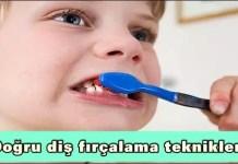 Doğru diş fırçalama teknikleri