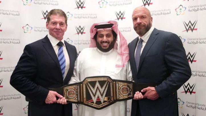 wwe in Saudi