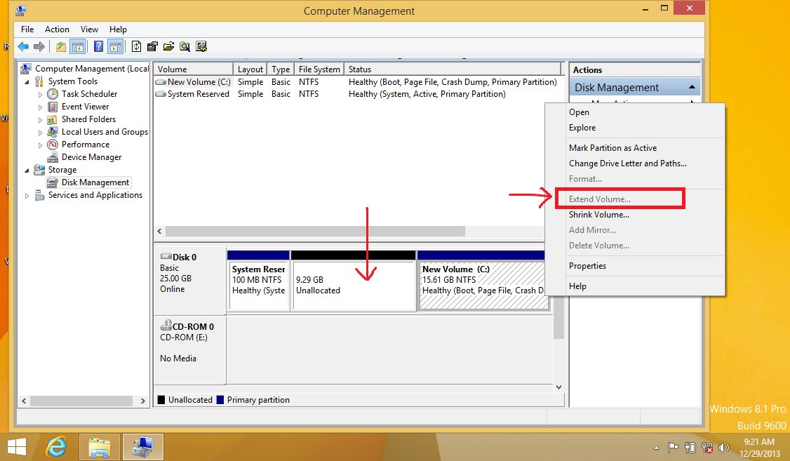 Add Unallocated Space Before C Drive To Any Partition On