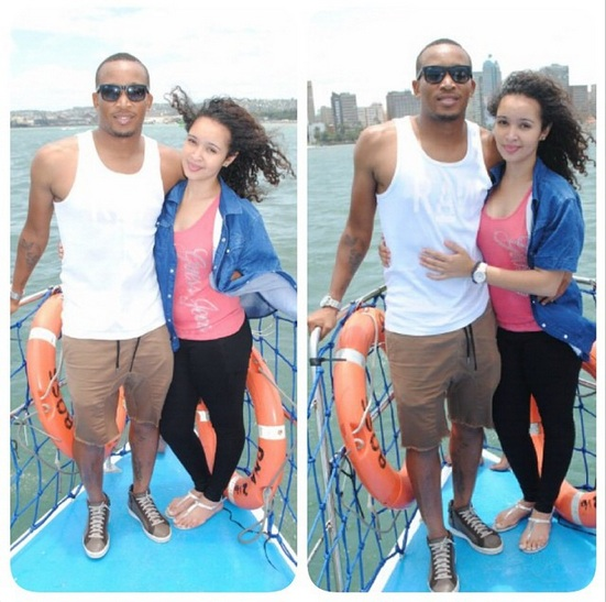 Lehlohonolo-Majoro-and-his-girlfriend