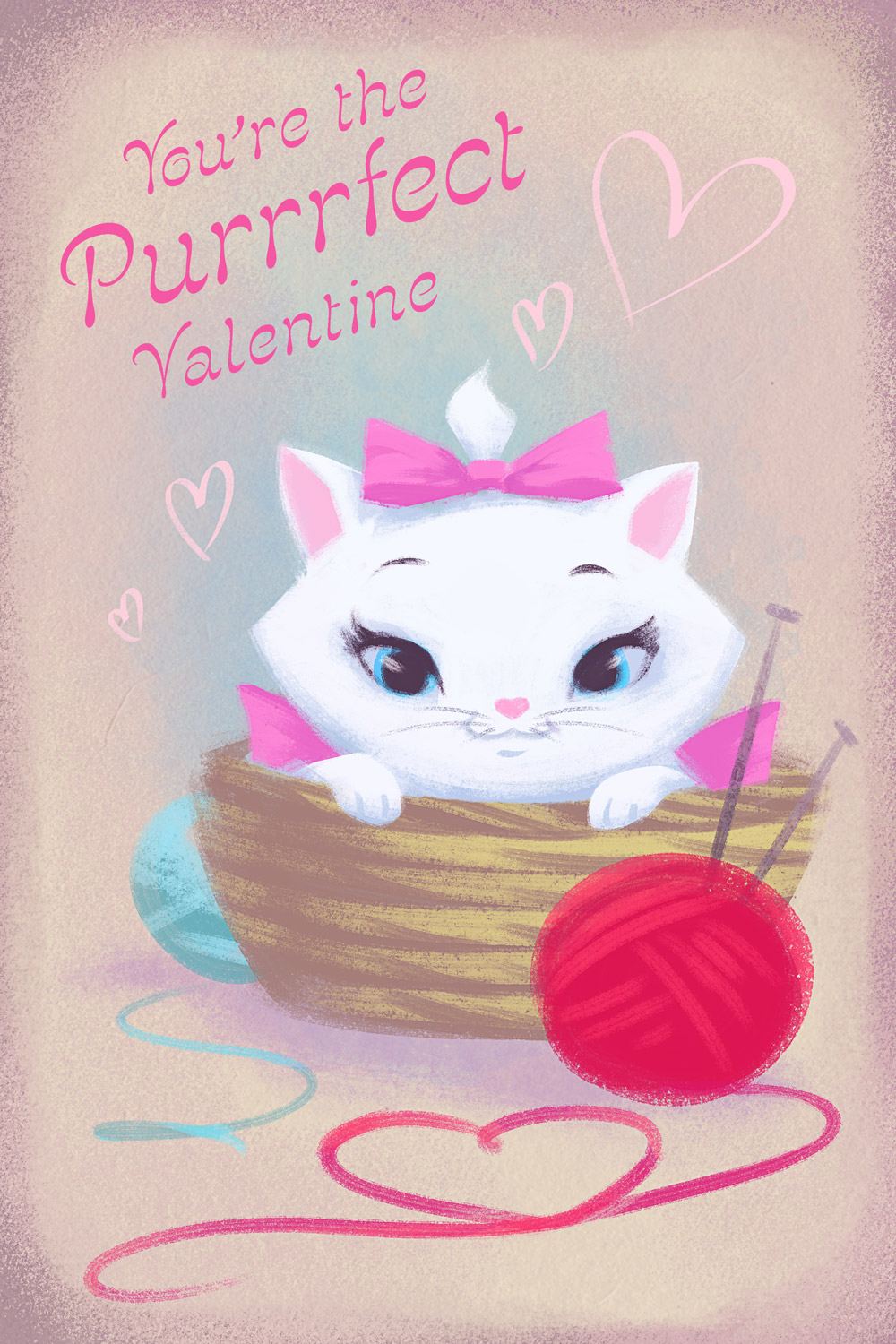 More Disney Valentines Day Cards From Disney Style