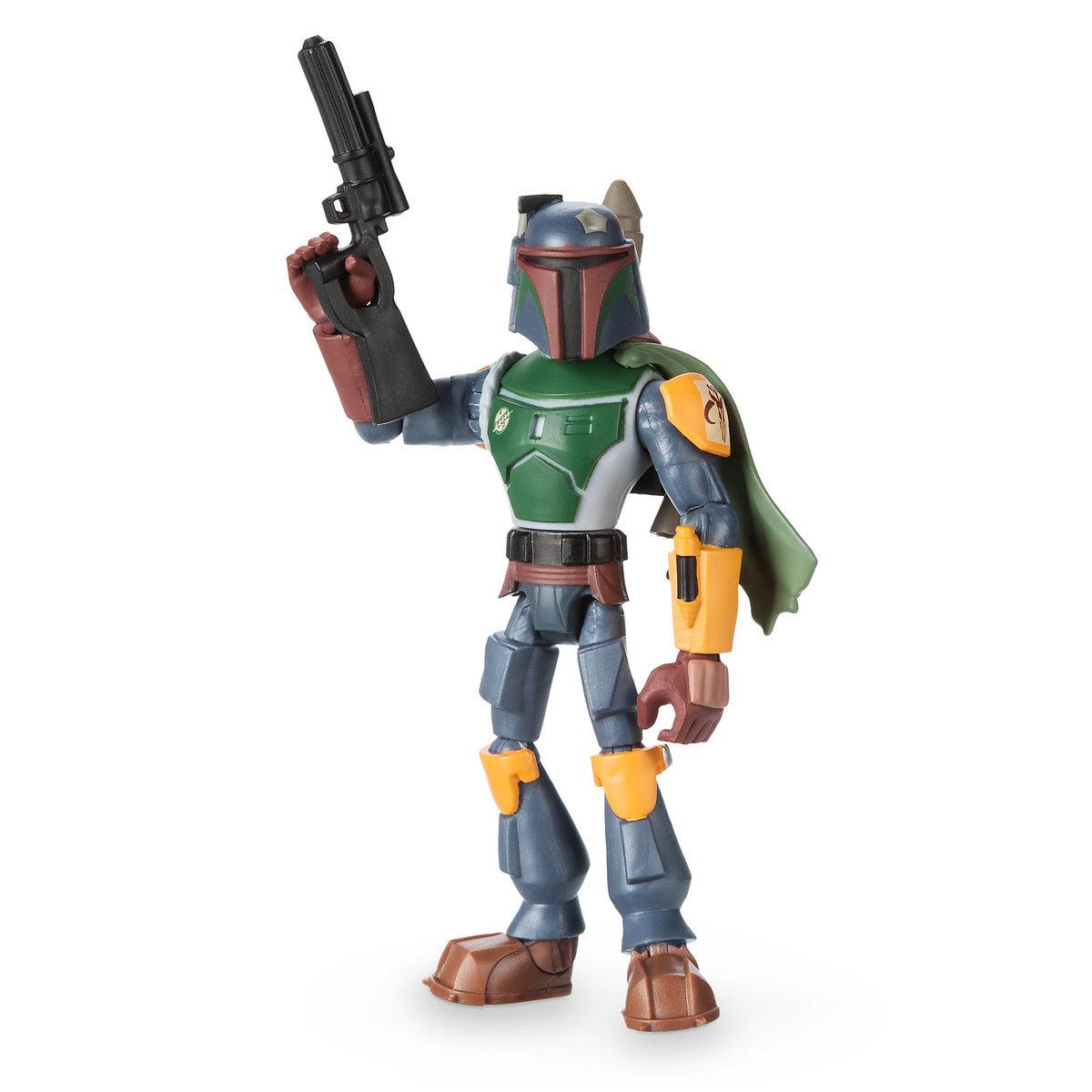Boba Fett Amp Luke Skywalker Star Wars Toybox Action Figures