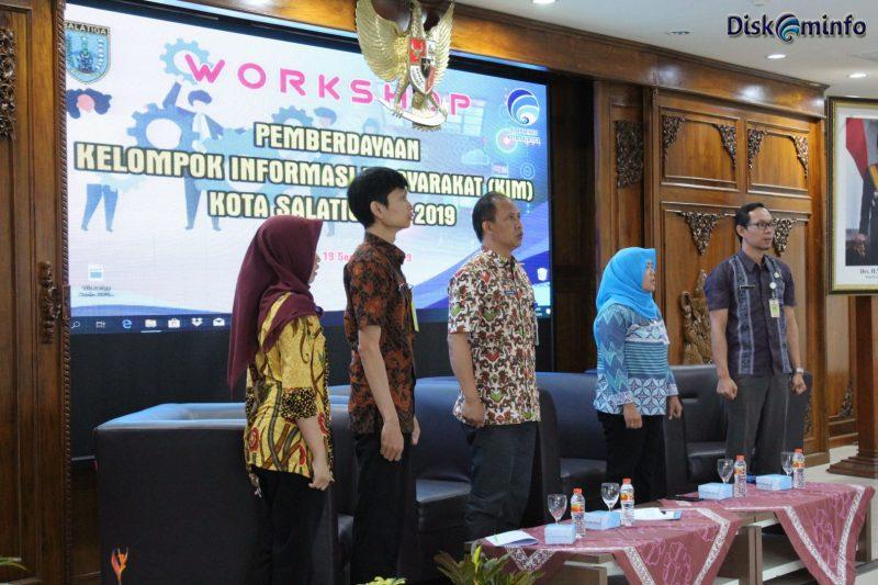 Workshop Pemberdayaan Kelompok Informasi Masyarakat (KIM)
