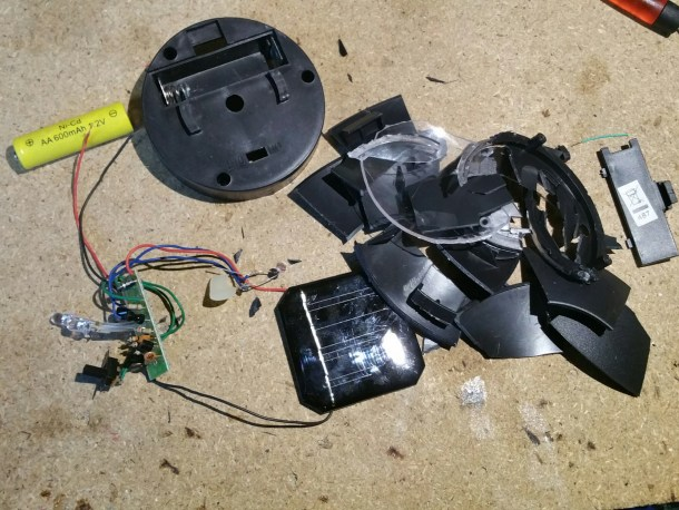 Solar Garden Lamp Teardown Dismantle It