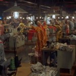 garment workers singing in colorful clothes