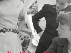 Nancy Deihl Book Cover. Two women look at model's dress
