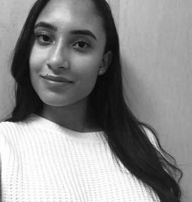 Black and white headshot of Kai Lewis Writing Contest Winner